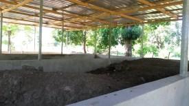 Les composts avec différentes expérimentations.