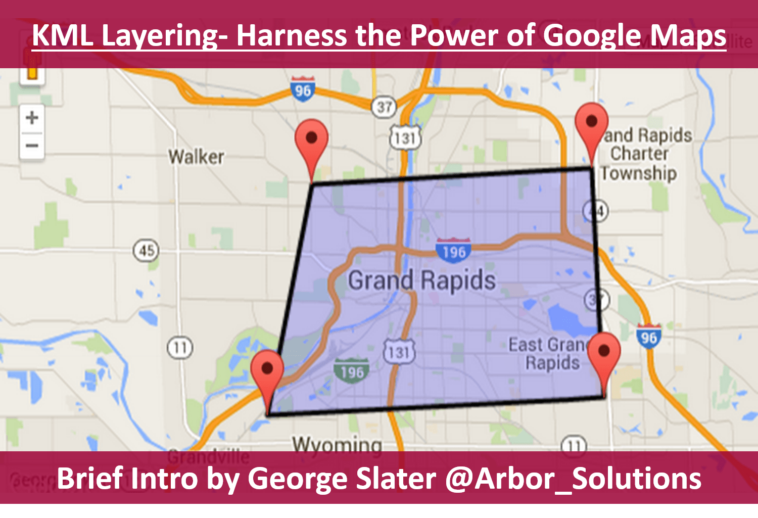 KML Layers How To Harness The Power Of Google Maps Arbor Solutions - Us counties kml