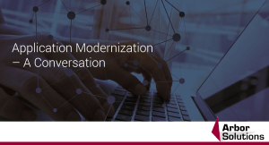 Application Modernization – A Conversation