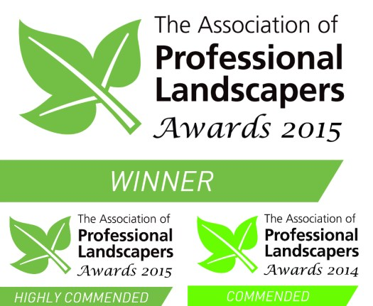 Arbworx won the Hard Landscaping Category at the APL Awards 2015 with Highly Commended in another two categories