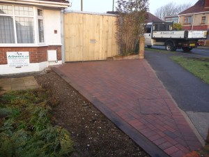 Block paving can be used to great effect where non pourous surfaces are not practical