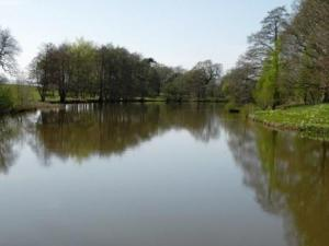 Magnificent view down the lake, Parham