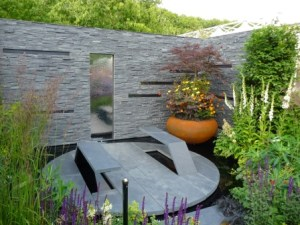 Superb small show garden at Chelsea Flower show