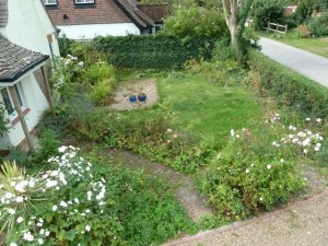 Arbworx : The Garden on Arrival with Lawns and Borders