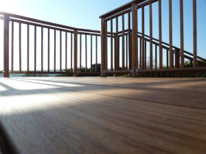 High quality decking for Arbworx, brighton