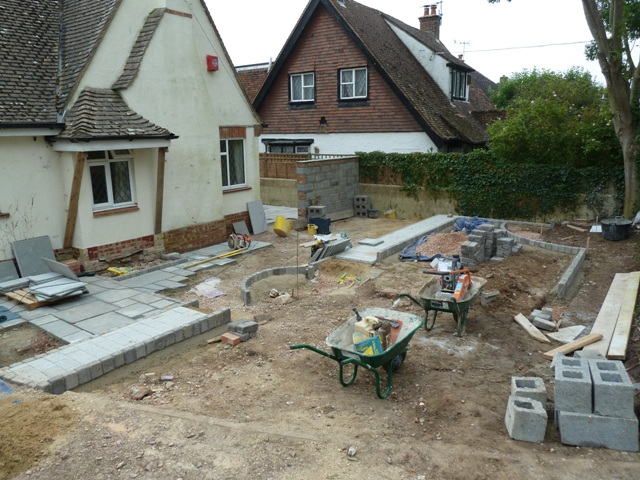 Arbworx : The Paving Begins