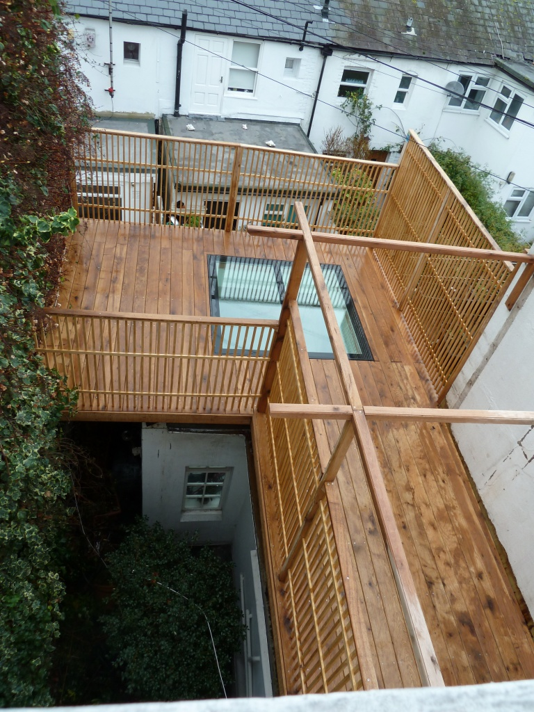 Arbworx roof terrace, Brighton & Hove, Sussex