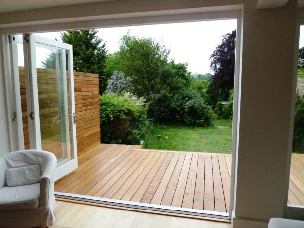 Balau deck build brighton