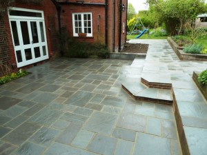 Paving works in Sussex