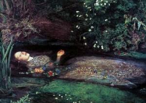 Millais, Ophelia 1851
