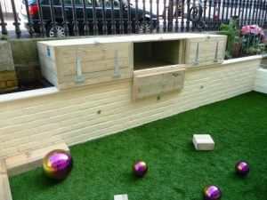 Arbworx custom built storage boxes
