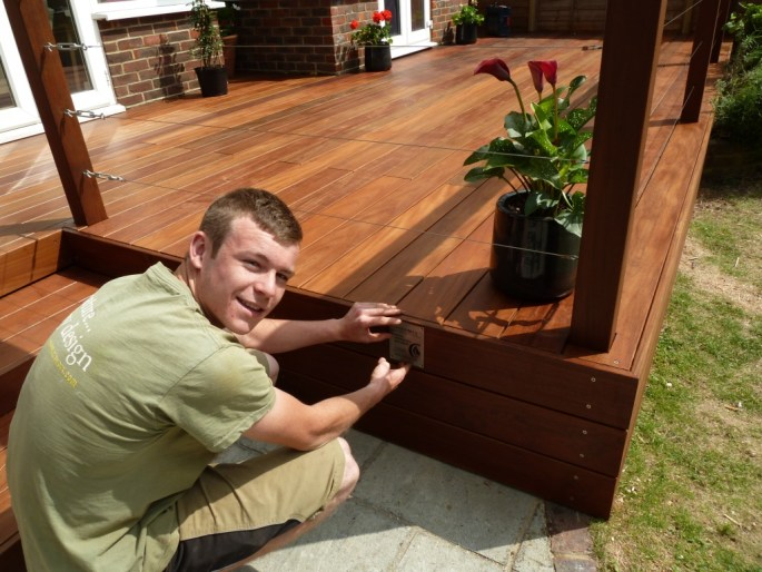We take great pride in the level of training our carpenters go through to install decks like this