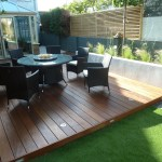 The hardwood deck will be a great entertaining area for parties