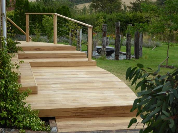 Arbworx Oak deck Sussex
