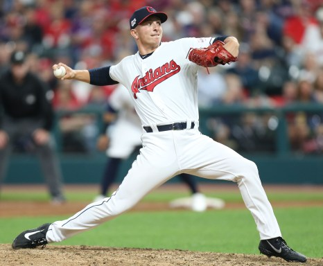 James Karinchak gives the Cleveland Indians a different look out of the  bullpen - cleveland.com