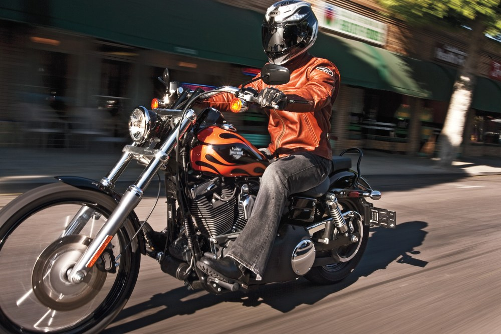 medium resolution of harley davidson wide glide road test