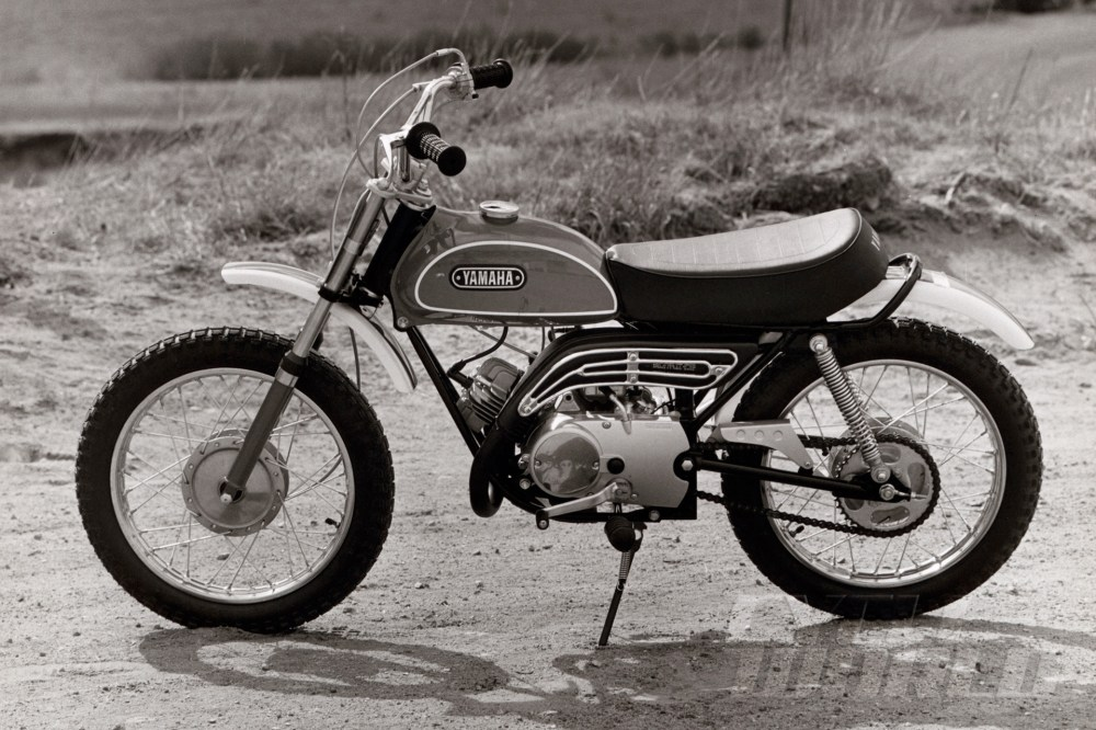 medium resolution of cycle world flashback 1971 yamaha jti mini enduro
