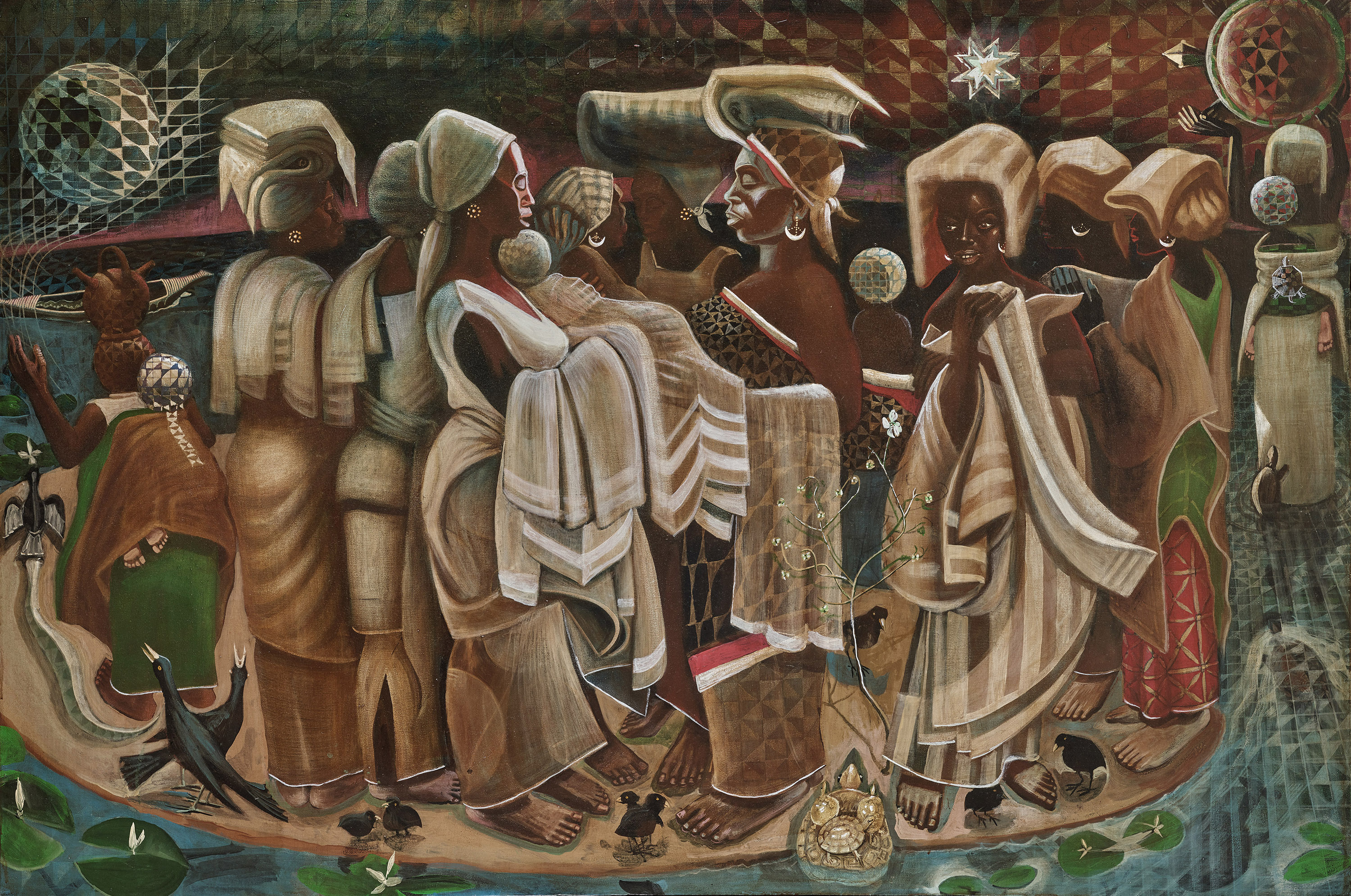At The Wadsworth Atheneum Art By African Americans Rejoices In The Sacred The Boston Globe