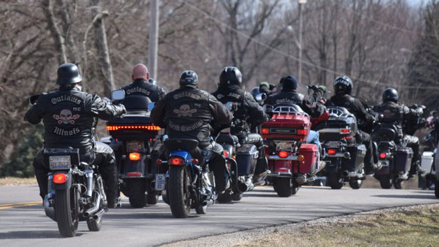 Thousands From Outlaw Motorcycle Club