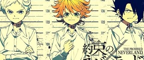Anuncian segunda temporada del anime Yakusoku no Neverland - La Tercera