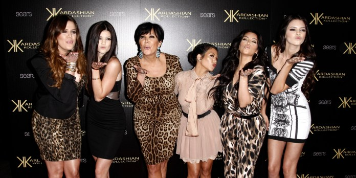 From left to right: Khloé Kardashian, Kylie Jenner, Kris Jenner, Kourtney Kardashian, Kim Kardashian and Kendall Jenner (Photo: AP/Matt Sayles)