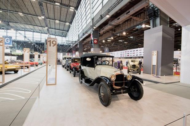 El Type A 10 HP es el modelo más antiguo de la exhibición