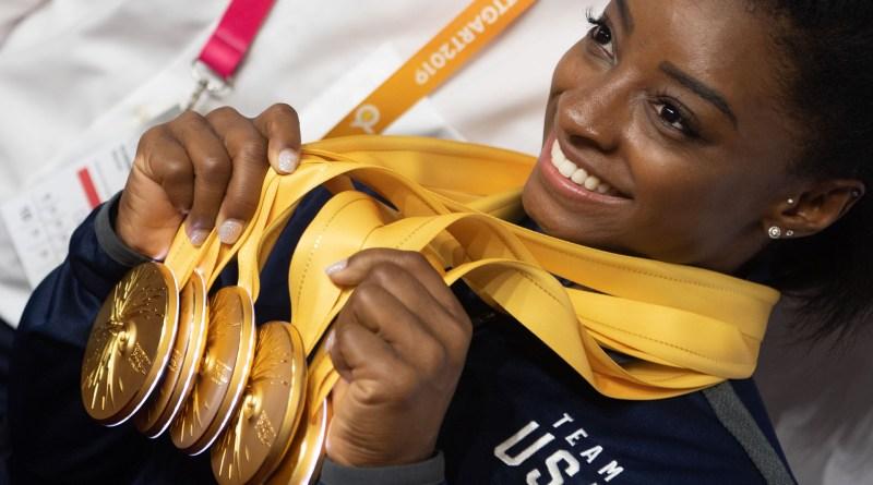 SIMONA BILES la máxima ganadora en gimnasia artística, de todos los tiempos