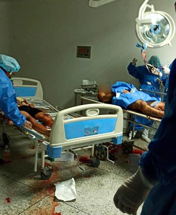 Los médicos piden desesprados insumos porque no tienen con qué tratar a los presos heridos