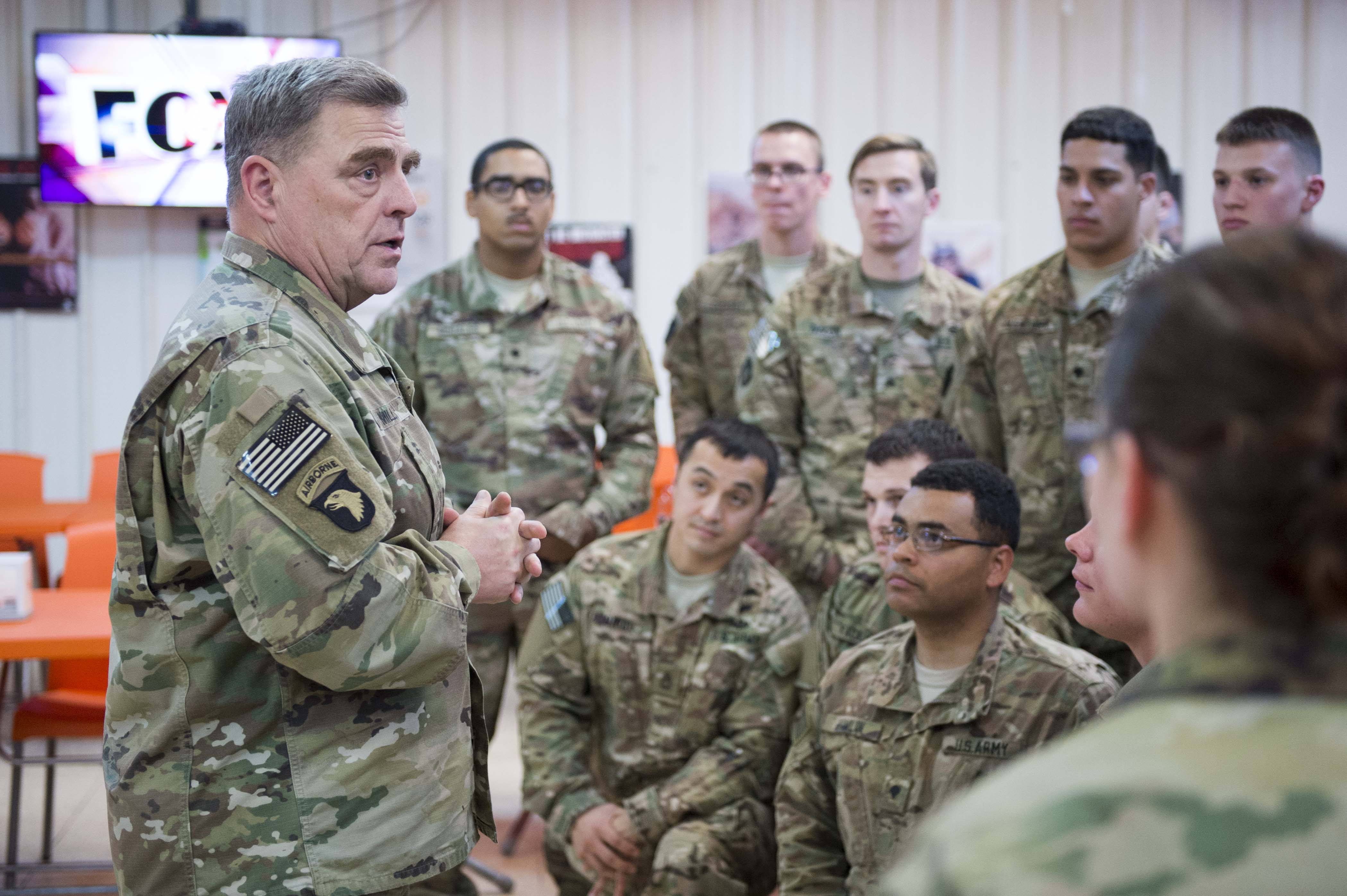 Army chief Its up to soldiers to help bridge the militarycivilian divide