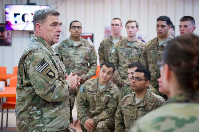Army chief: It's up to soldiers to help bridge the military-civilian divide