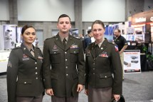 Pink and Green U.S. Army Uniform