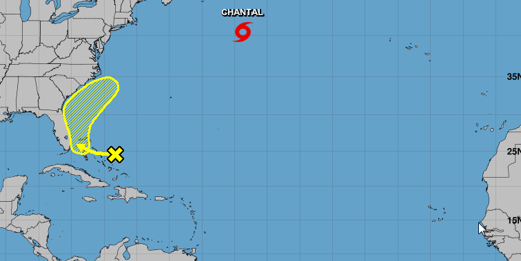 a tropical system might