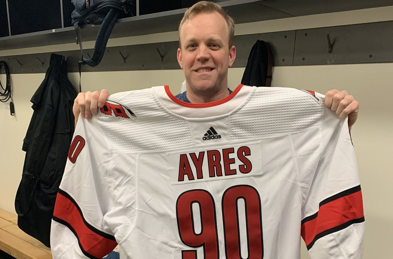 Ice Hockey: Spectator to Player, Dave Ayres' Amazing NHL Night