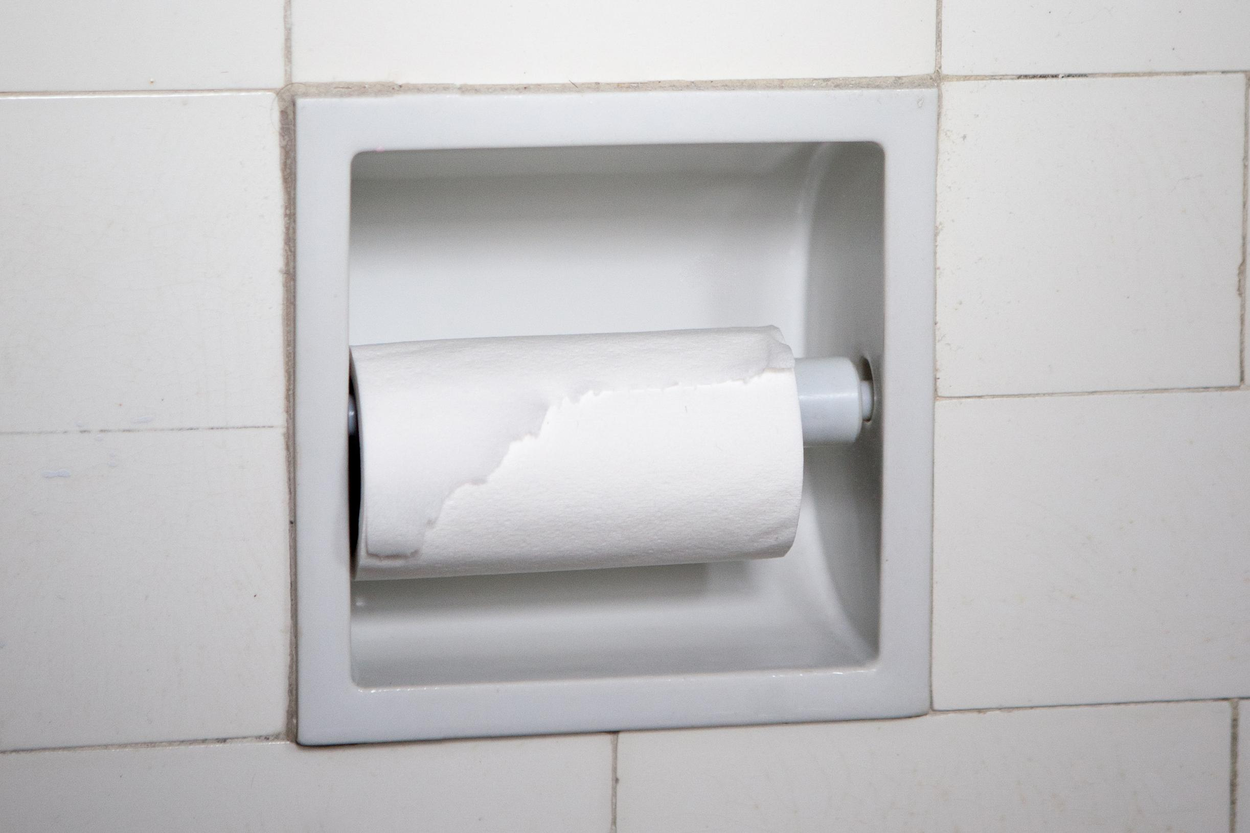 toilet paper rolls are getting