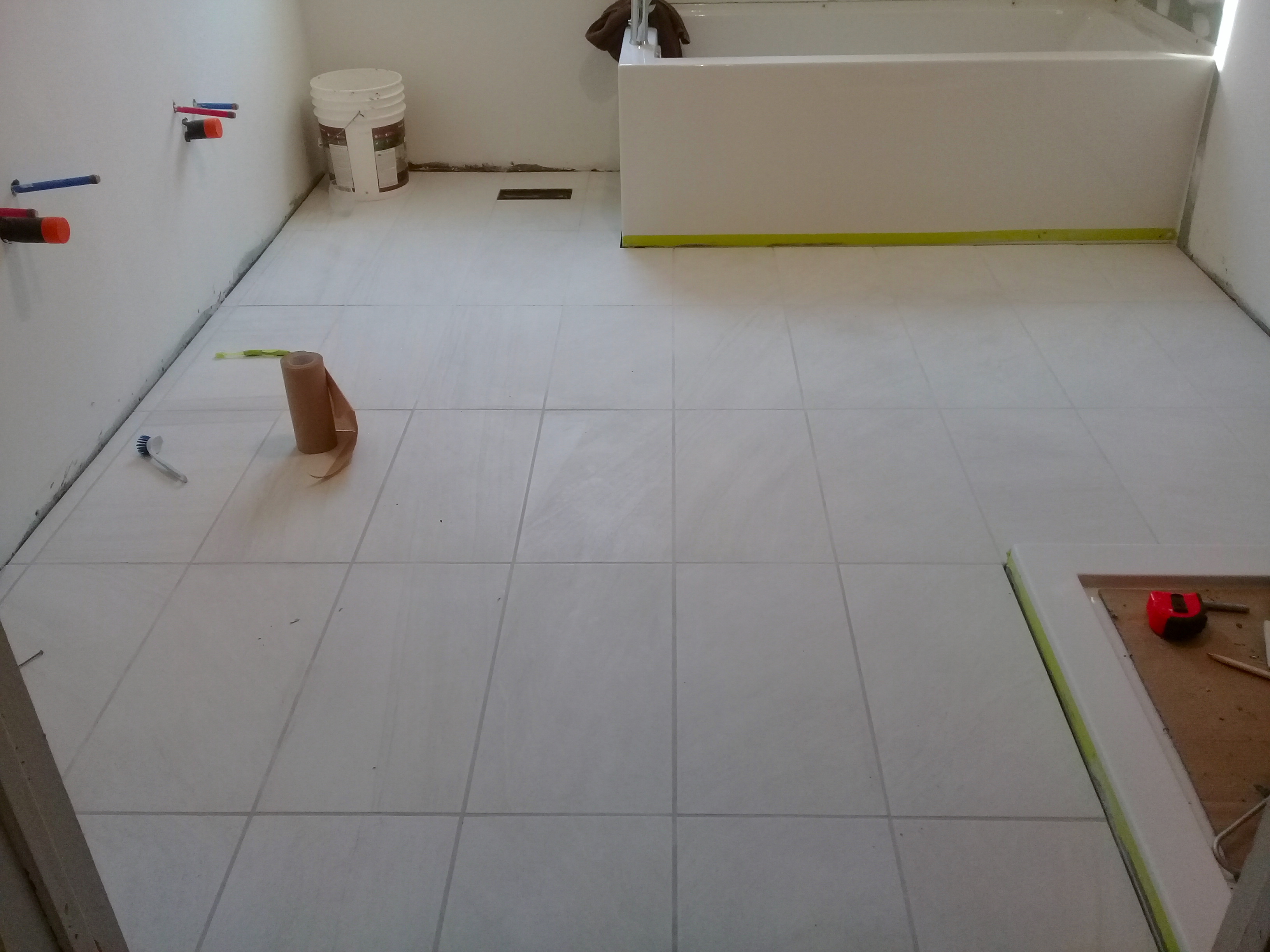 how to ensure your grout is the color
