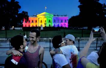 For Obama, rainbow White House was 'a moment worth savoring' - The Washington Post