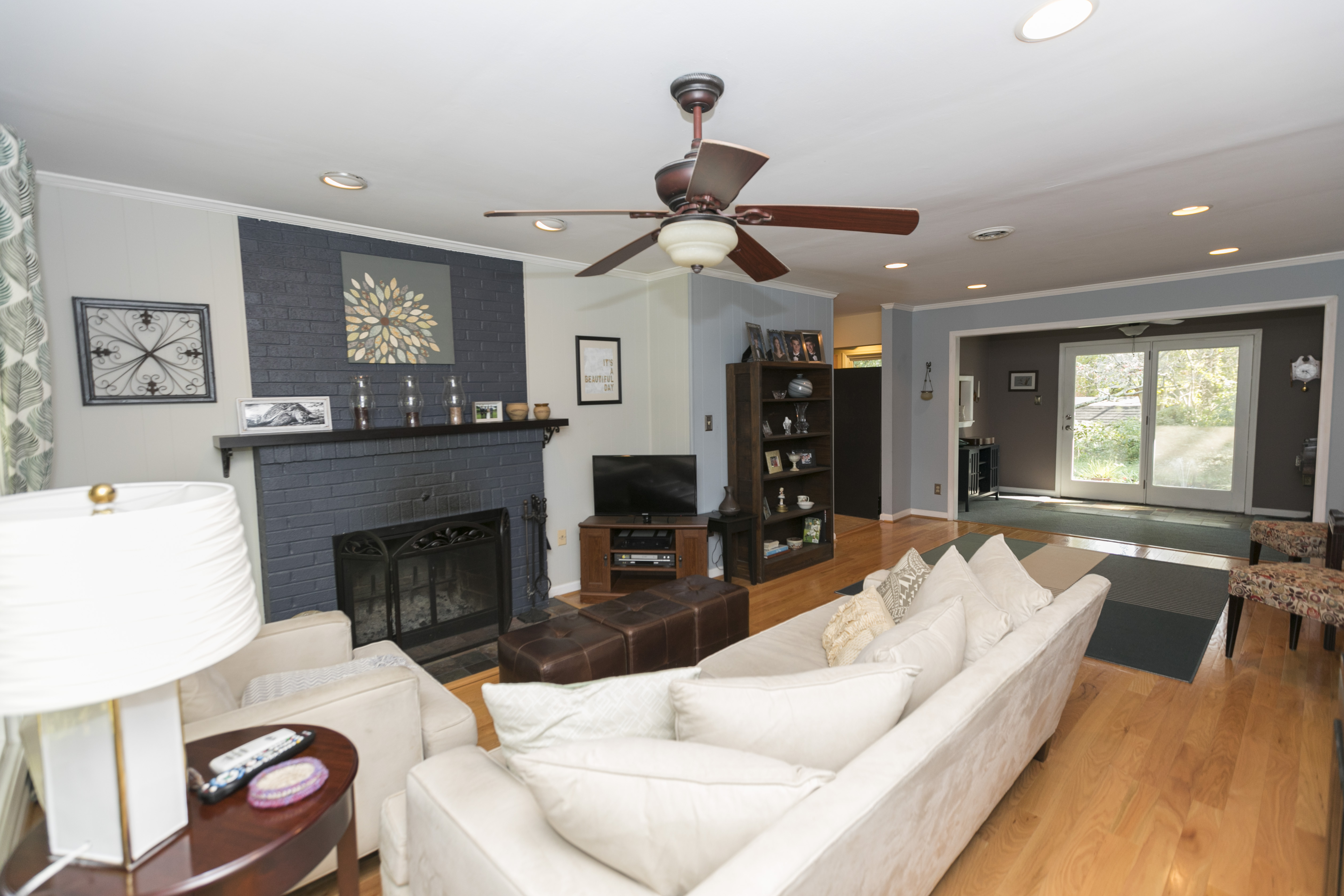 How To Add Seating To A Long Narrow Living Room While