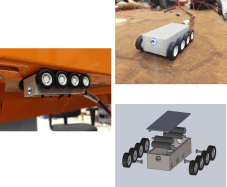 Remote controlled inspection tool for double-shell tank (DST) primary tanks