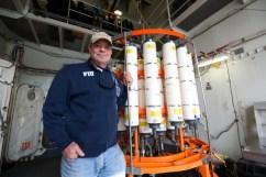 Professor David Kadko on the U.S. Coast Guard HEALY