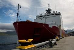 US Coast Guard research icebreaker Healy, Dutch Harbor, Alaska