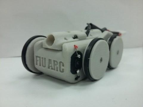 Magnetic mini rover