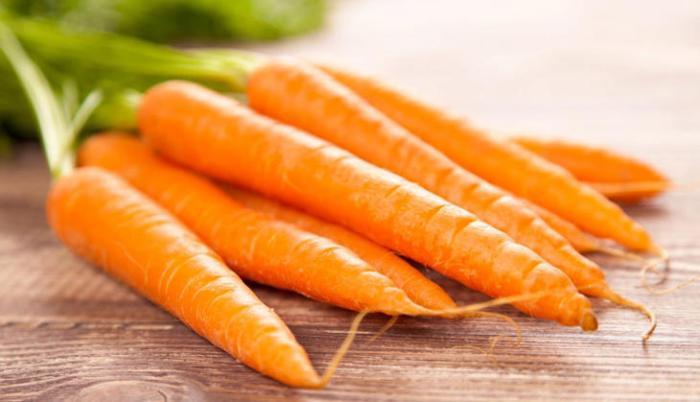 O benefícios da cenoura
