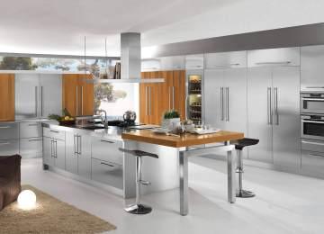 Mobili In Acciaio Per Cucina | Home Design Novastil
