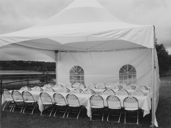 folding chair rental vancouver distressed leather chairs uk white rentals arcada