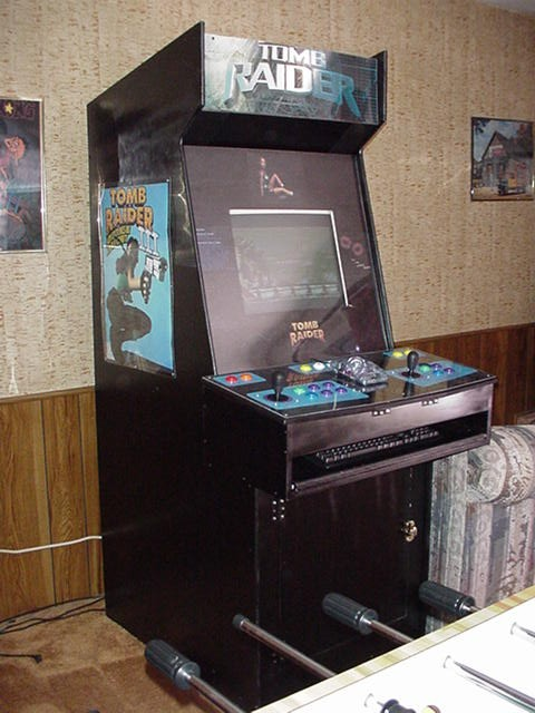 Tomb Raider Cabinet