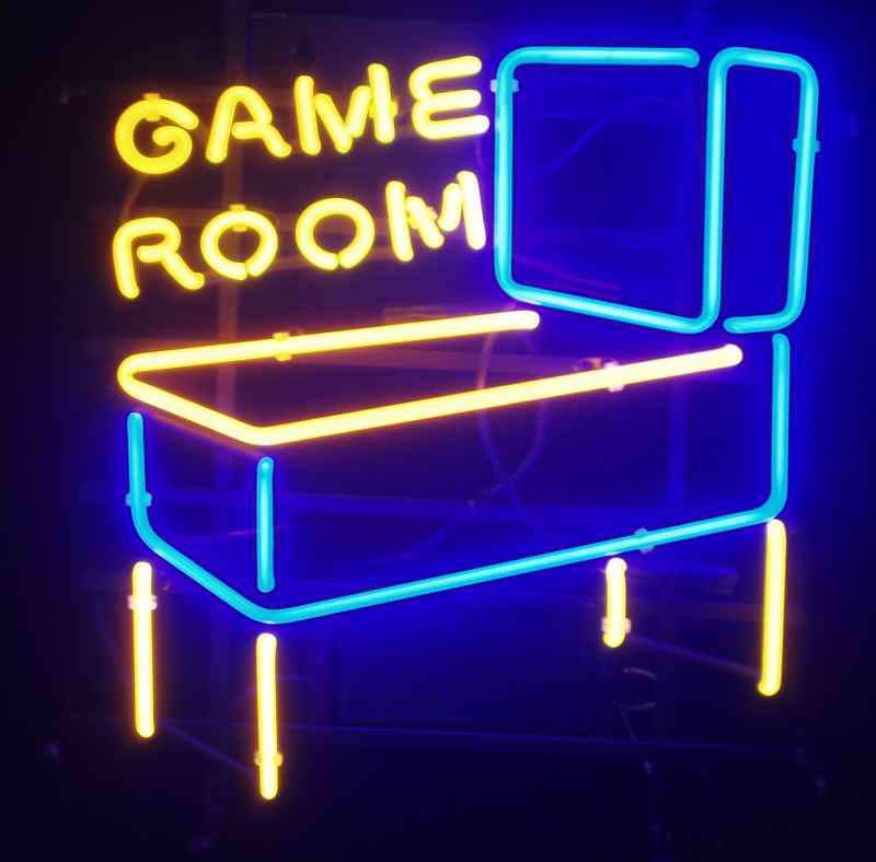Awesome Neon Game Room Signs  Arcade Heroes