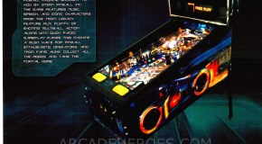 TRON Pinball now out in the wild + flyer