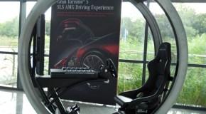 The Gran Turismo 5 simulator at Mercedes-Benz