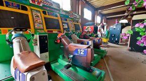 Leftover arcades wasting away at the Nara Dreamland
