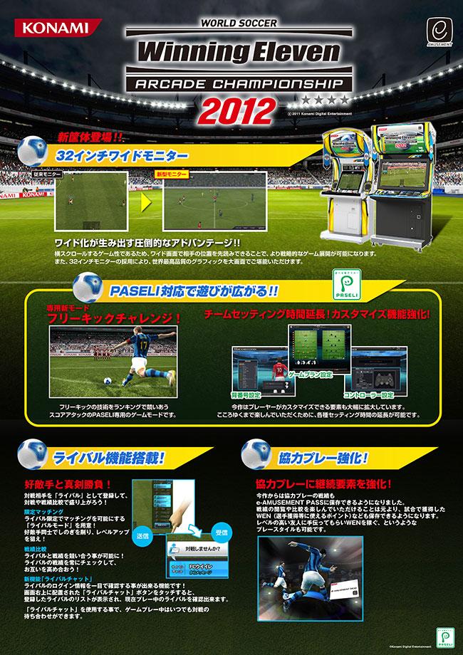 Arcade Heroes Konami unveils World Soccer Winning Eleven
